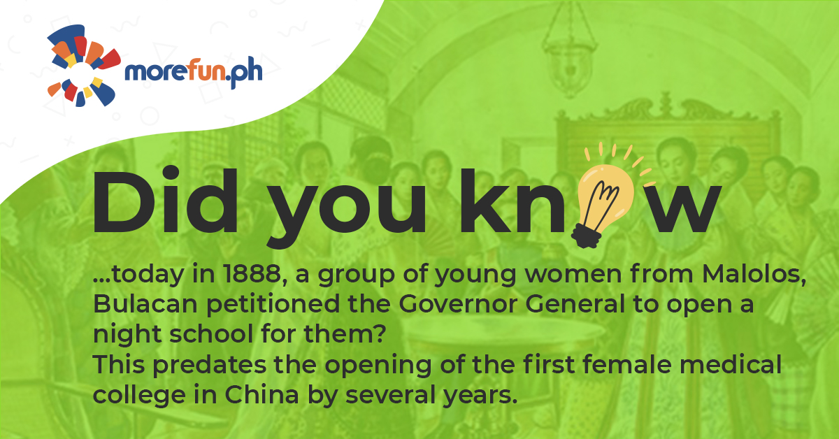 Did You Know…? (The Women of Malolos)
