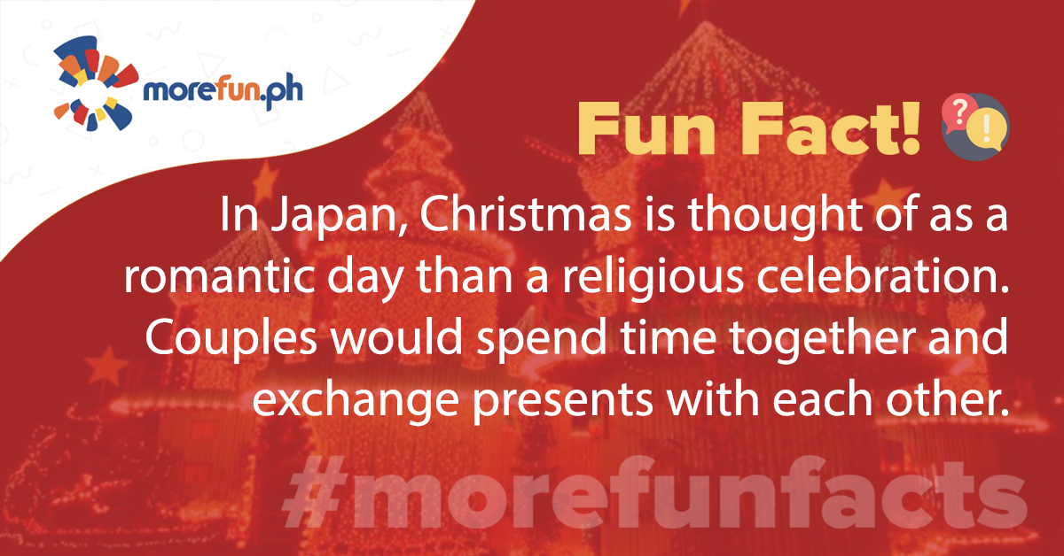 More Fun Facts! Christmas Edition Day 17 (12-17)