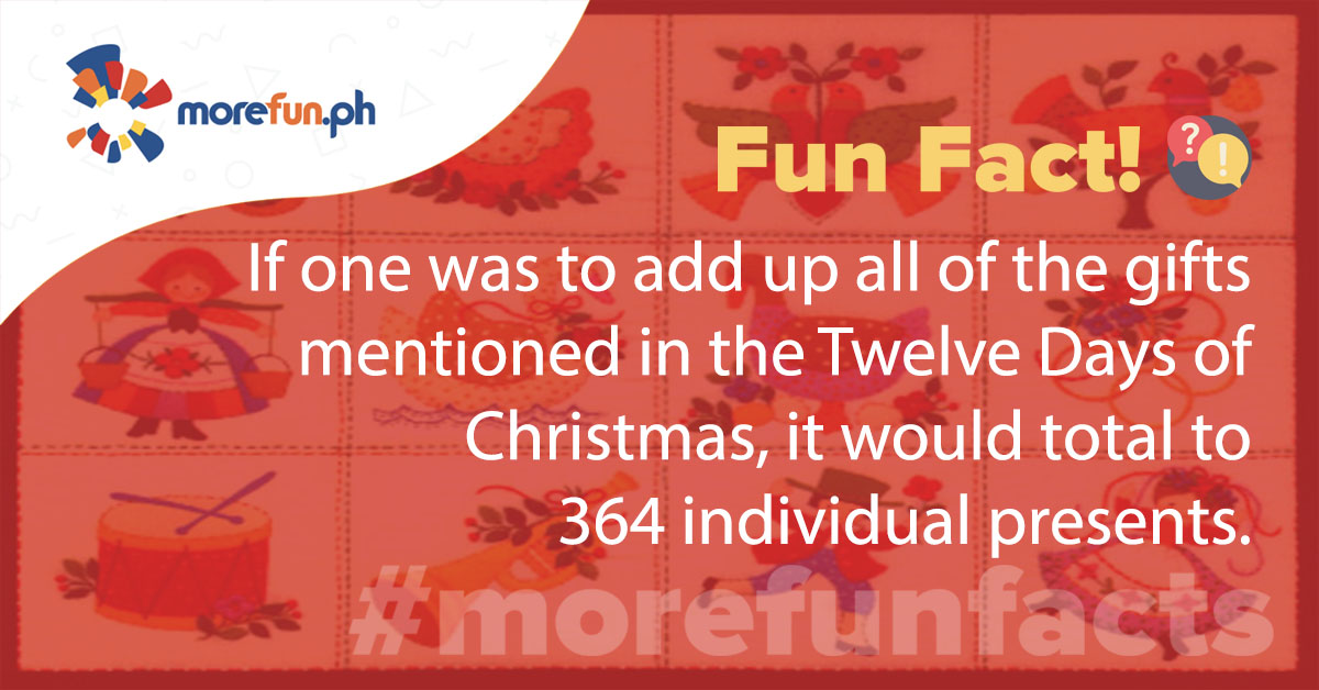 More Fun Facts! Christmas Edition Day 22 (12-22)